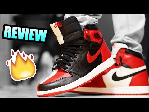 separation shoes c868f 342e4 Repeat Jordan 1 HOMAGE 2 HOME Review ! | Jordan 1 HOMAGE TO ...