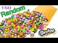 150 Random Surprise Package Lot Of Shopkins Season 1 - 7 - Exclusives , Topkins & Limited Edition