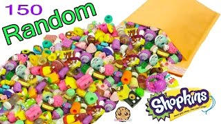 150 Random Surprise Package Lot Of Shopkins Season 1  7  Exclusives , Topkins & Limited Edition