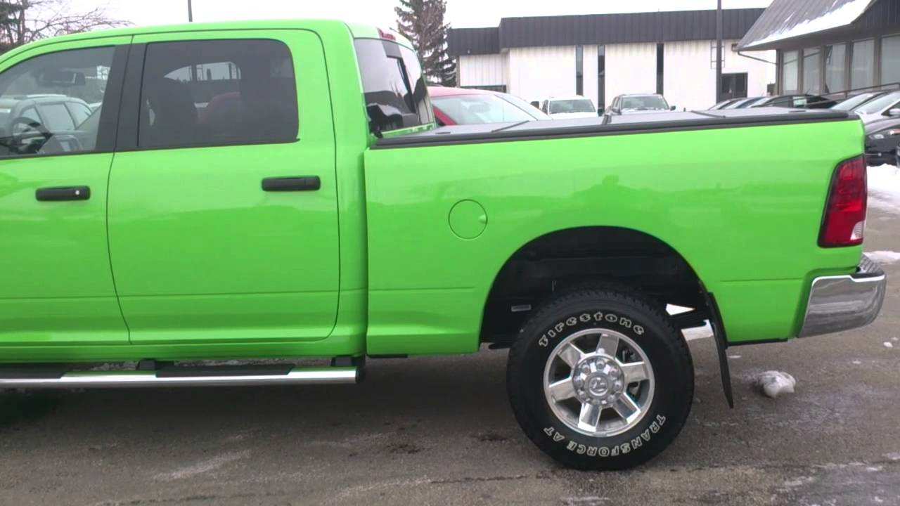 Hills Green Ram 2500 At Airdrie Dodge Jeep Youtube