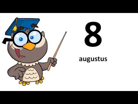Learn Afrikaans # The months