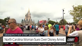 Grandma Gets Stripped & Cavity Searched at Disney World