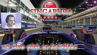 F1 2017 MODO CARREIRA PISTA SINGAPURA GAMEPLAY PC, PS4 E XBOX ONE SCUDERIA TORO ROSSO