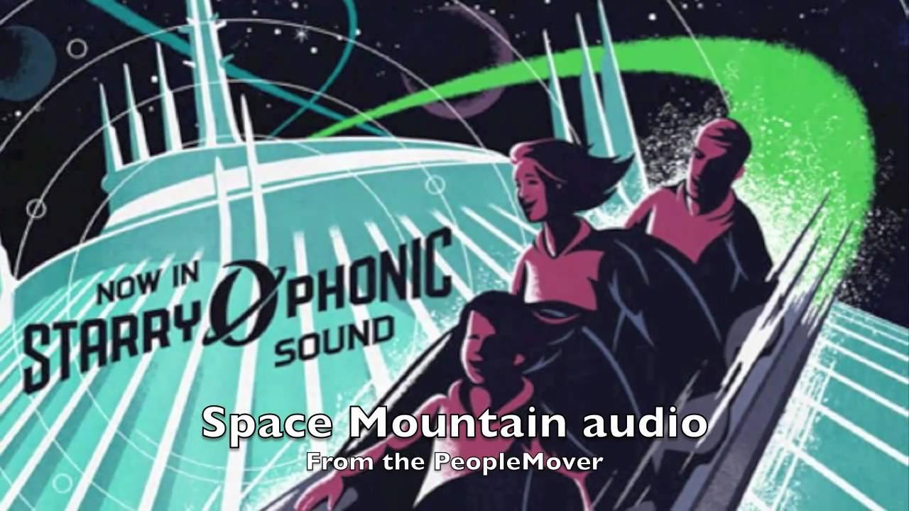 Space Mountain Magic Kingdom (Walt Disney World) off board ...