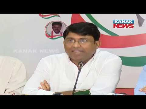 Satya Prakash Nayak Holds A Press Meet In Bhubaneswar