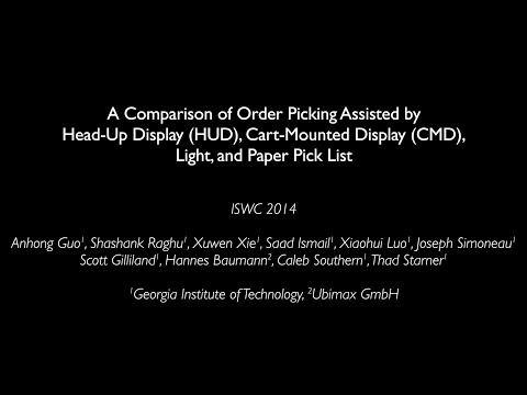 Order Picking ISWC 2014