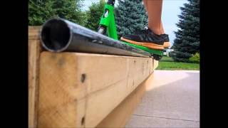 Scooter grind session