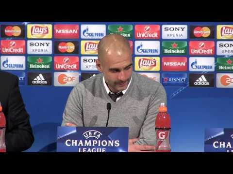 Pep Guardiola's emotional message to Bayern Munich after Atletico defeat