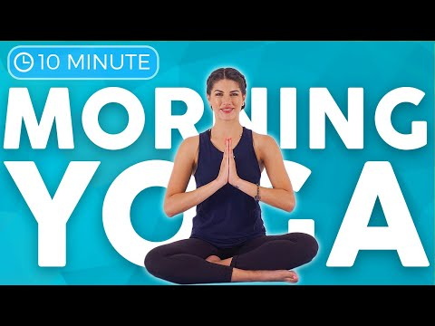 10 minute Morning Yoga Stretch to WAKE UP