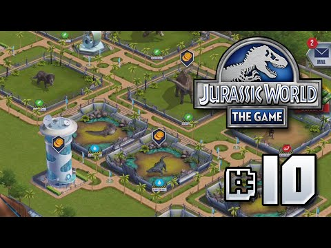 The Park Takes Shape || Jurassic World - The Game - Ep 10 HD