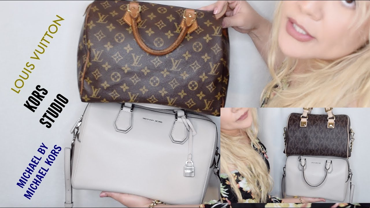 81dc4dfd00085e MICHAEL KORS MERCER DUFFEL VS SPEEDY 30 AND MK GRAYSON MEDIUM - YouTube