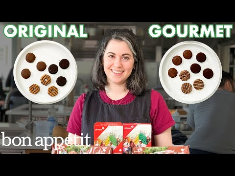 Pastry Chef Attempts to Make Gourmet Girl Scout Cookies | Gourmet Makes | Bon Apptit