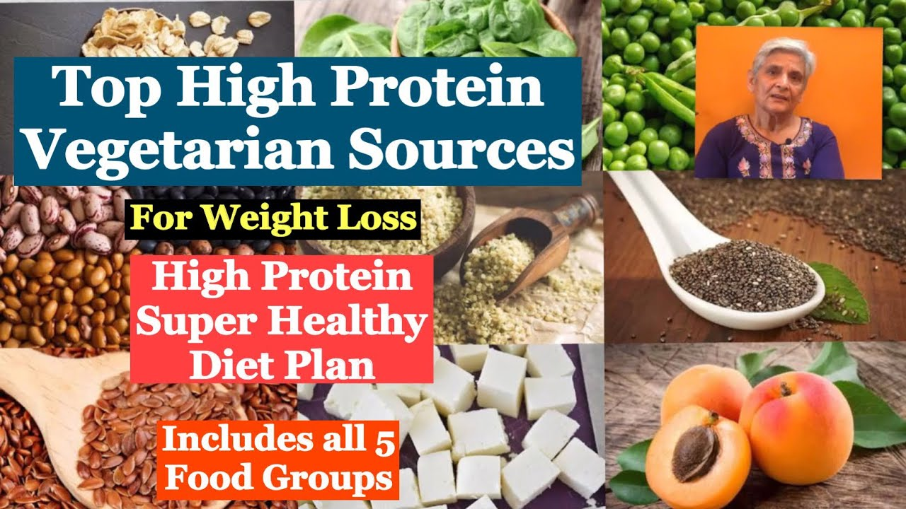 High protein food plan for weight loss