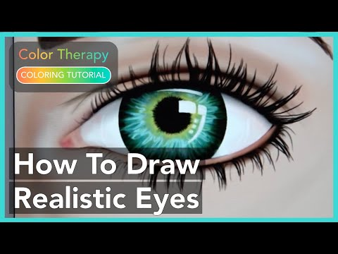 Cool Coloring tutorial: How to draw Hyper Realistic Eye ...