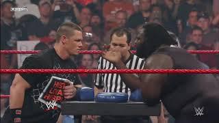 John Cena vs. Mark Henry - Arm Wrestling Contest: Raw, Feb. 4, 2008