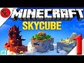 """Minecraft:  """" SKYCUBE lets play Ep1 This is Hard """""""
