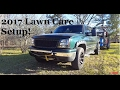"""2017 Lawn Care Trailer Setup """"Southern Style Lawn Care"""""""