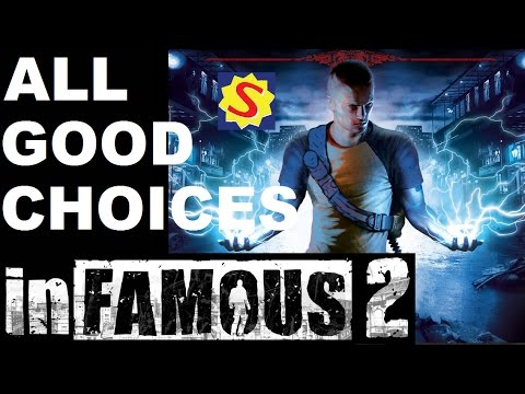 All Good Choices & Good Ending - Infamous 2