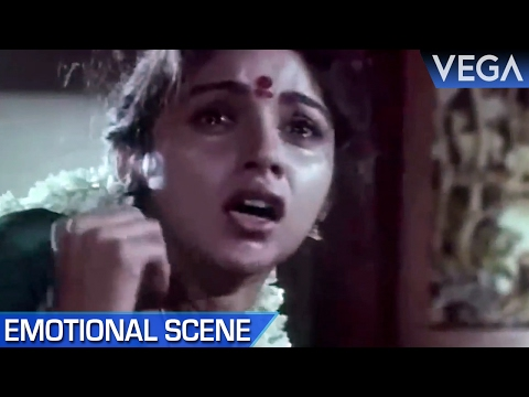 Revathi Gets Beaten By Raja || Meendum Savithri Movie || Emotional Scene