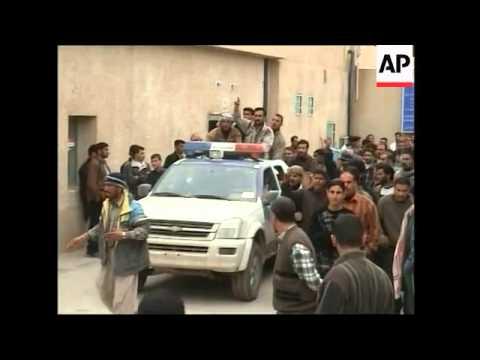 Sunni leader on raids, Fallujah and Baghdad violence