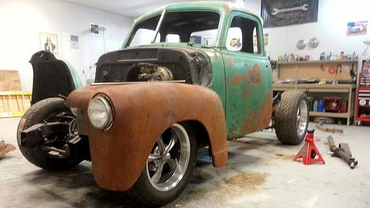 1953 Chevrolet 5 Window Pickup Truck 5 7 Tpi Build Project Youtube