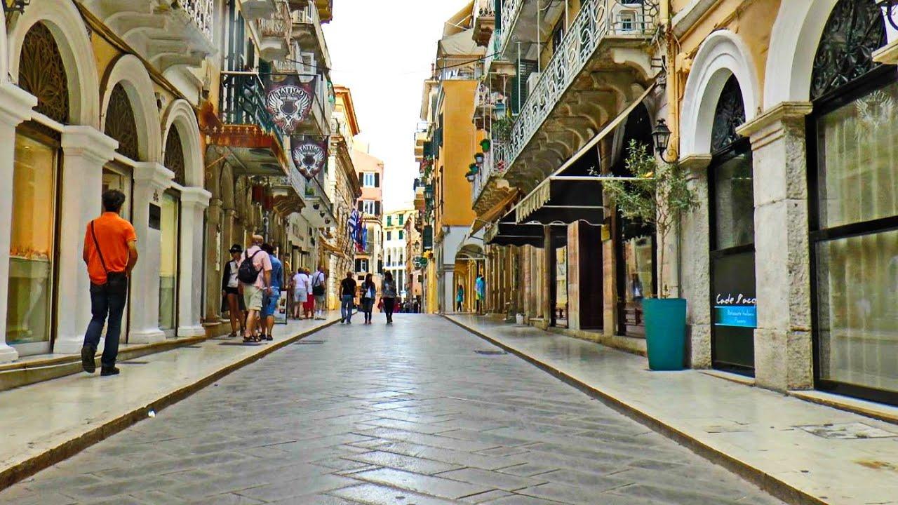 Corfu Town - YouTube