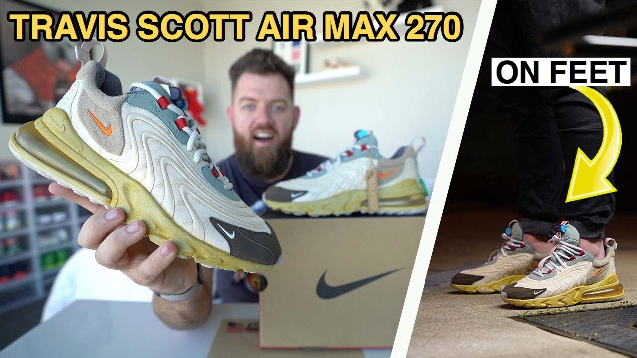 air max 270 react travis scott stockx