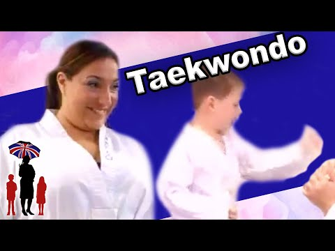 Kids Let out Anger through Karate | Parenting Techniques | Supernanny