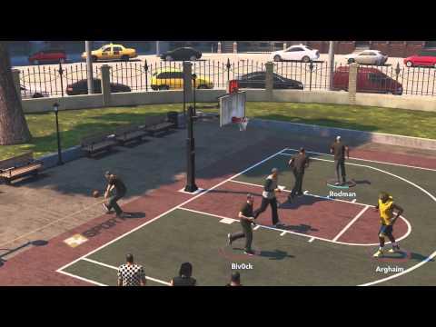 NBA 2K14 Xbox One The Park #1 3 Vs 3 Street Basketball Streetball Gameplay