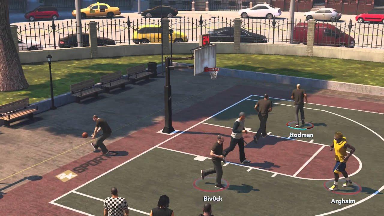 Nba 2k14 Xbox One The Park 1 3 Vs 3 Street Basketball