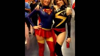 Repeat youtube video Supergirl Cosplay Latex and Leather