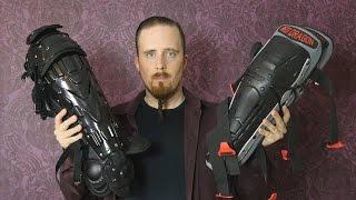 Leg protection for HEMA - Red Dragon vs. baseball knee/shin guards