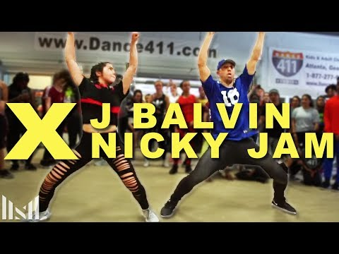 X - Nicky Jam & J Balvin Dance | Matt Steffanina | DANCECON 6: Atlanta