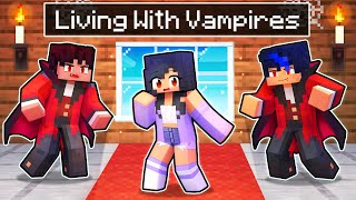 Living With VAMPIRES In Minecraft!