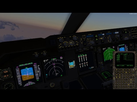 P3Dv4 中華航空 China Airlines Cargo 747 World Flight FRA(法蘭克福)-DXB(杜拜) Departure