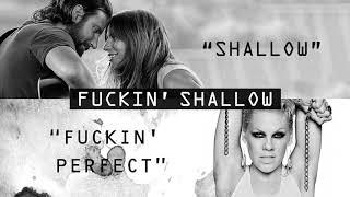 Baixar Shallow vs. F-ckin' Perfect (MASHUP) Lady Gaga, Bradley Cooper, P!nk