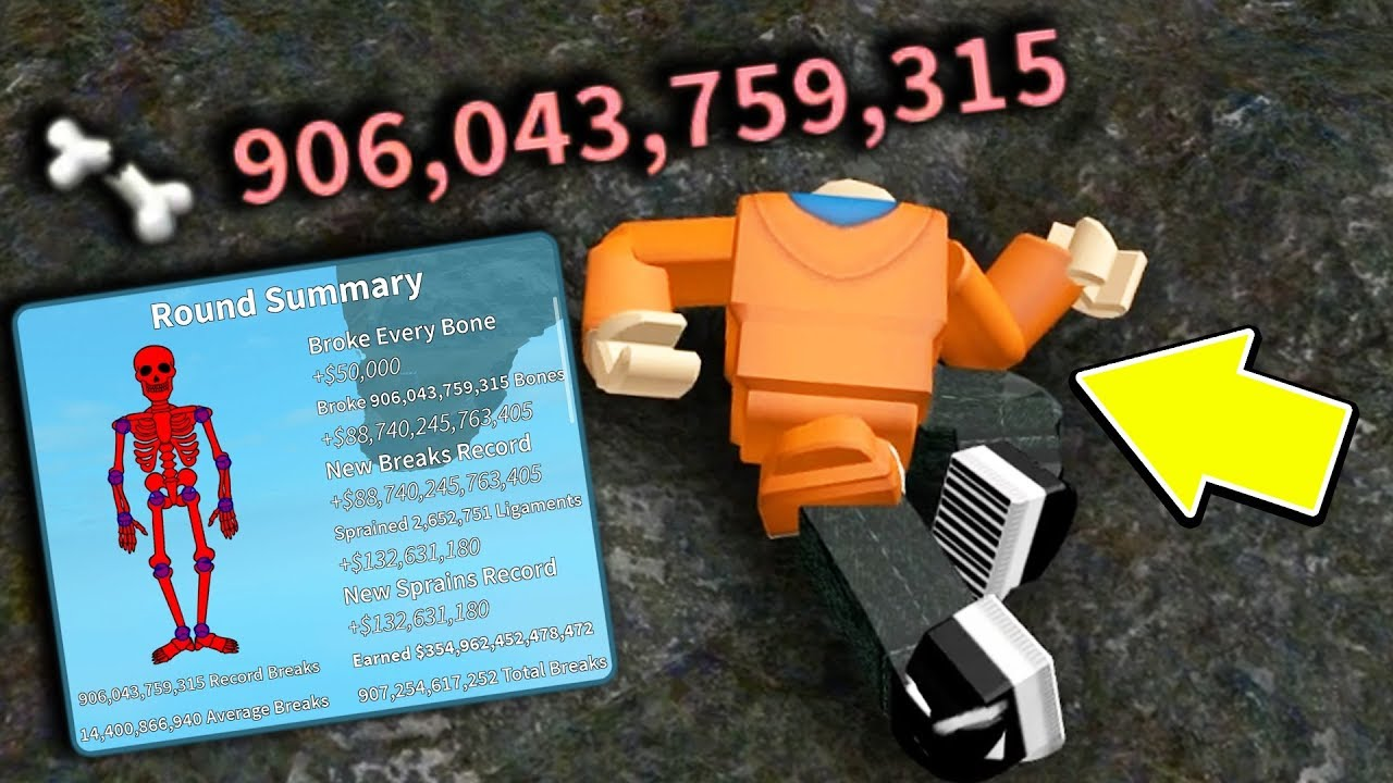 I BROKE OVER 1 BILLION BONES IN ROBLOX AND KIND OF BROKE THE GAME...   Roblox