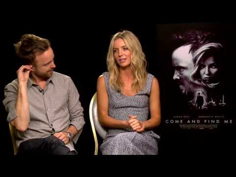 Come and Find Me Interview with Aaron Paul and Annabelle Wallis