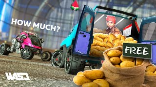 POTATO LEAGUE #89 | TRY NOT TO LAUGH Rocket League UNUSUAL MEMES and Funny Moments