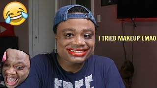 Doing My Makeup For The FIRST TIME