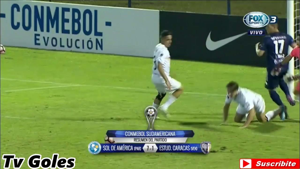 Sol de America 7-1 Estudiantes Caracas SC