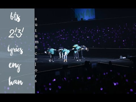 BTS (방탄소년단) – Two! Three! (Hoping For More Good Days) lyrics & video edit