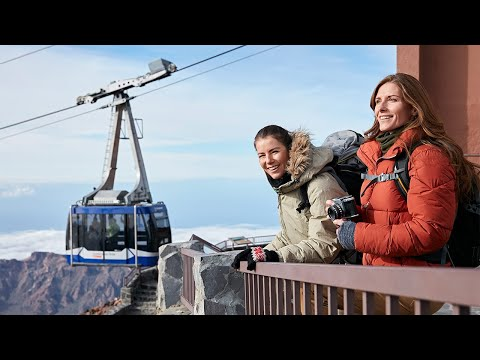 Guided Hike to Mount Teide Summit with Roundtrip Cable Car Ride - Video
