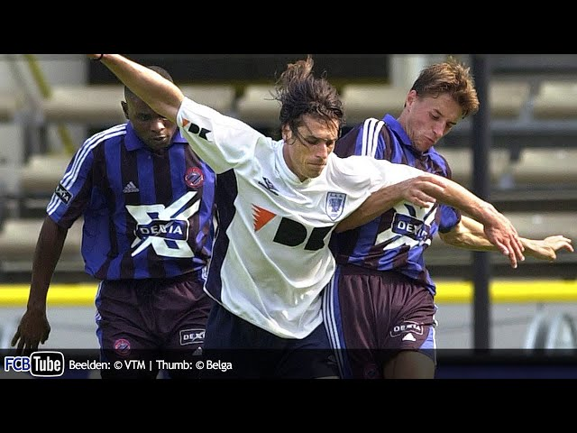 2000-2001 - Jupiler Pro League - 01. Club Brugge - AA Gent 6-2