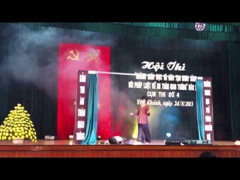 Phần thi Chào hỏi ATGT - Nguyễn Huệ