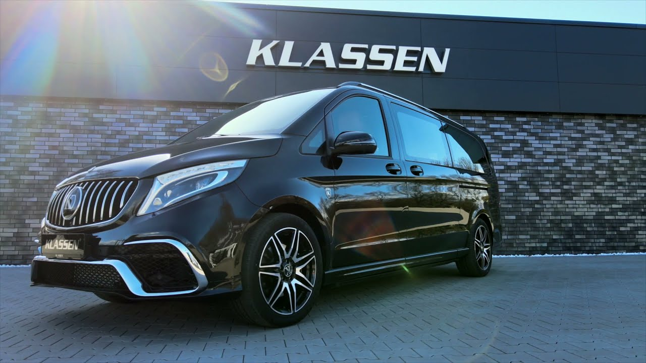 MERCEDES-BENZ V-CLASS V 300 KLASSEN VIP BUSINESS PLUS INTERIOR - Luxury VIP Cars and Vans