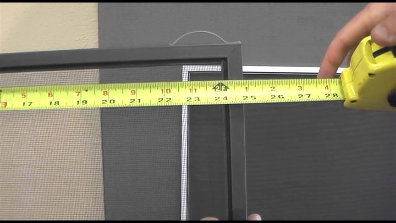 How To Measure Your Window Screens Old