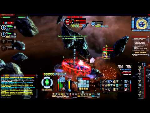 Startrek Online: Salvage Elite PvP in action. Capture and Hold Slaughter. Season 9.5