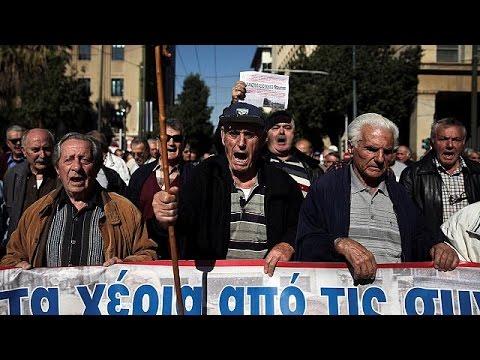 Grèce : la colère des retraités contre une nouvelle baisse des pensions - world