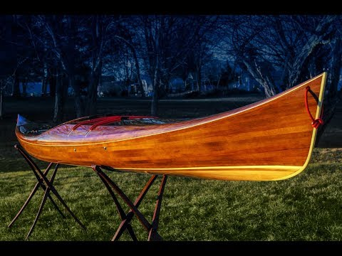 Making the Petrel Play - a Cedar Strip Kayak